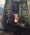 5吨模锻电液锤在印度客户使用