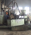 feeding and unloading machine