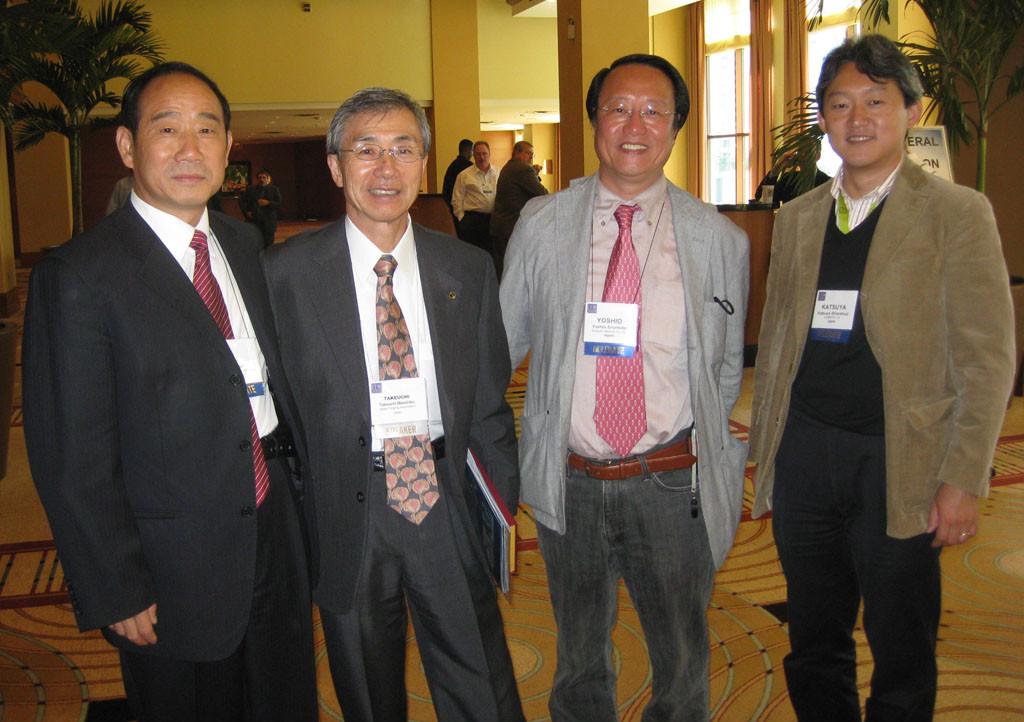亚洲-公司领导到日本参加亚洲yabo亚博体育会议
