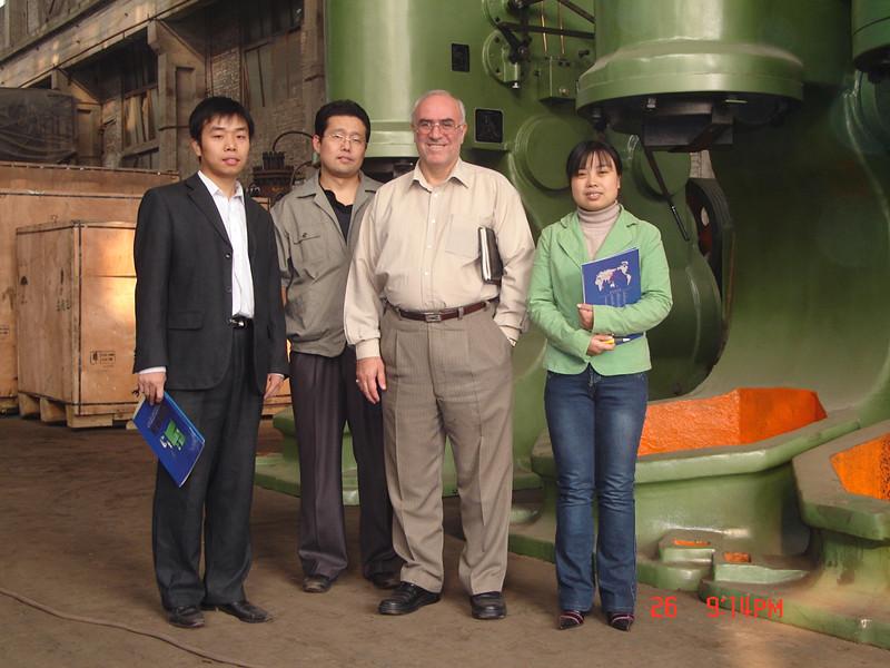 欧洲-白俄罗斯电液动力头客户来访