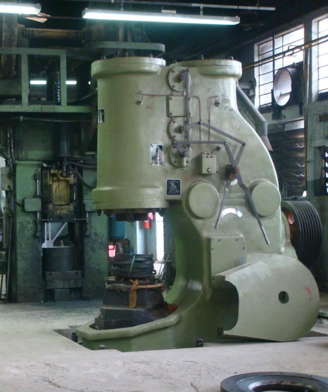 1吨空气锻锤在巴西使用