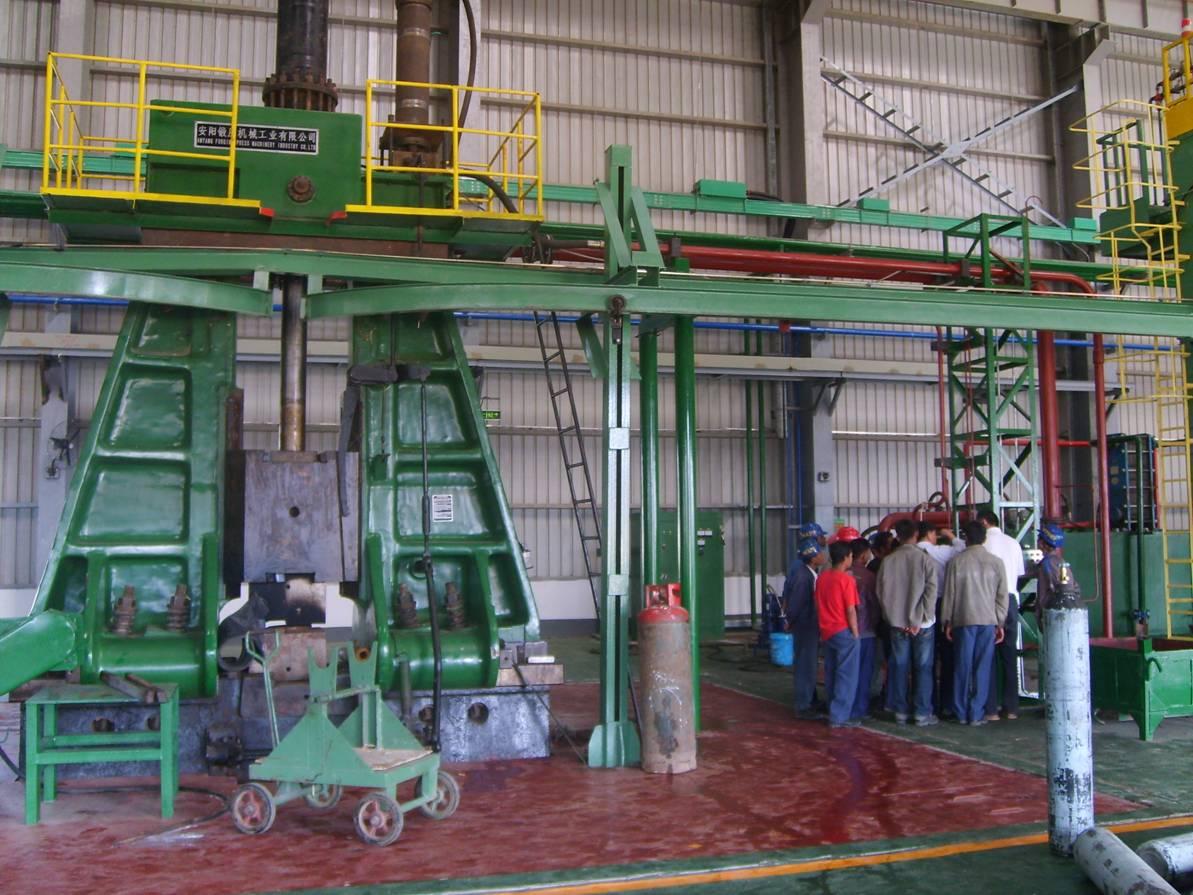 5吨模锻电液锤在缅甸使用