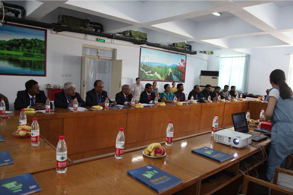亚洲-印度22人铸造协会代表团来访