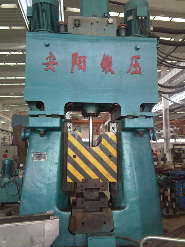 数控锤客户案例-63KJ安阳锻压数控锤在重庆