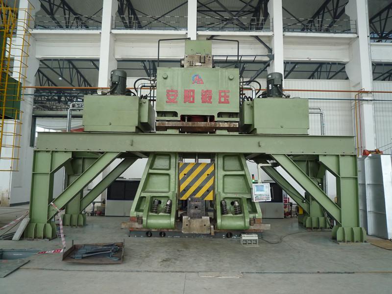 数控锤客户案例-200KJ安阳锻压数控锤在四川yabo亚博体育汽轮机叶片