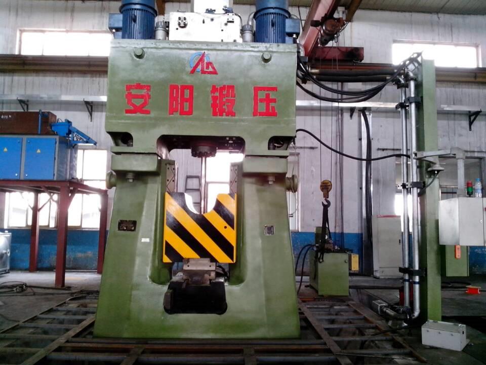 数控锤客户案例-31.5KJ CNC全液压模锻锤在河北