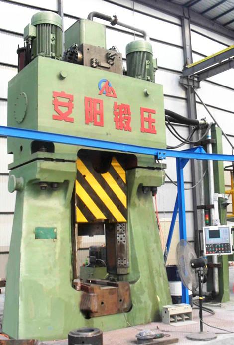 数控锤客户案例-80KJ程控全液压模锻锤在徐州