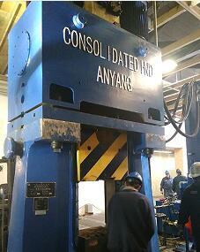 数控模锻锤视频-31.5KJ数控锤出口美国yabo亚博体育航天锻件视频