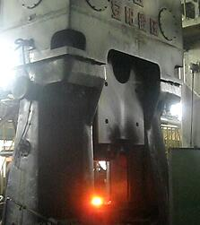 数控模锻锤视频-63KJ程控液压锻锤出口到越南yabo亚博体育摩托车方向柱