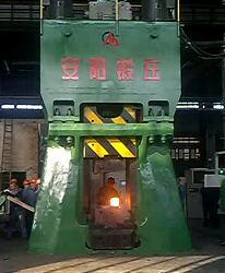 数控模锻锤视频-125KJ数控锤在常州yabo亚博体育机车配件视频
