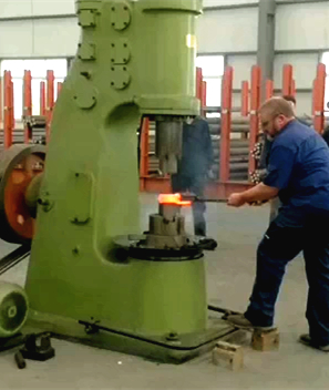 110KG power hammer tested by Bruce (Anyang-Australia dealer)