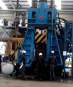 3T hammer forge flange in Vietnam
