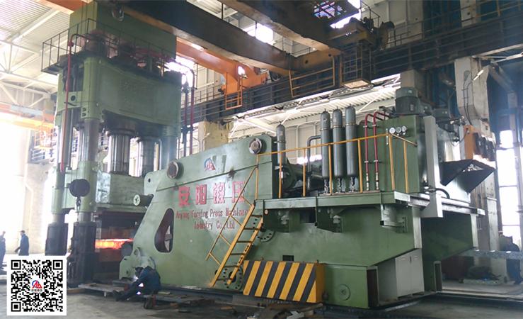 本产品销售业绩-3150吨yabo亚博体育液压机和20吨yabo亚博体育操作机出口罗马尼亚
