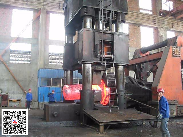本产品销售业绩-4000吨自由锻液压机和20吨yabo亚博体育操作机在新乡