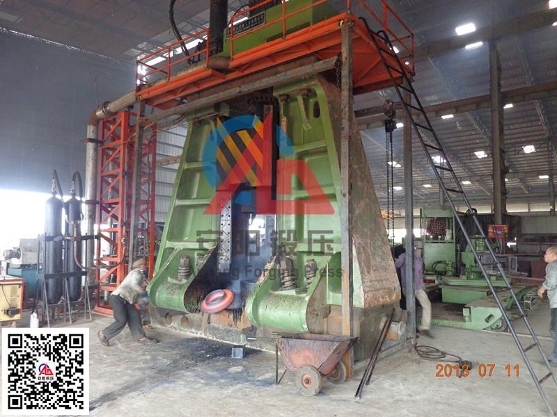 10吨模锻电液锤出口印度yabo亚博体育法兰