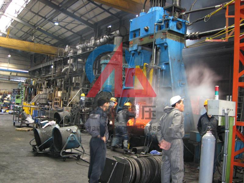 6吨模锻电液锤出口韩国yabo亚博体育汽车锻件