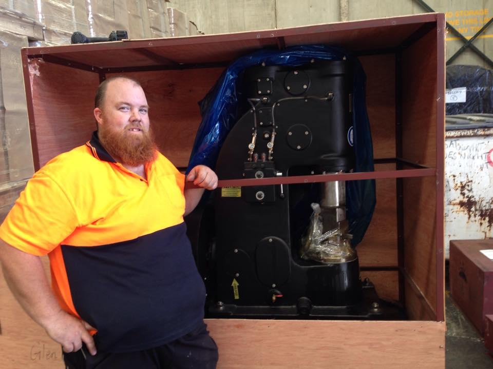 安阳锻压打铁25KG小空气锤出口澳大利亚