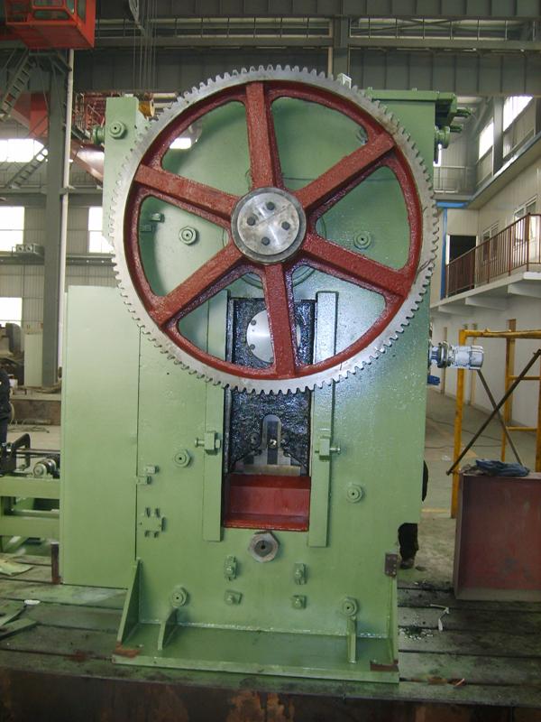 500吨精密圆棒料剪断机装配