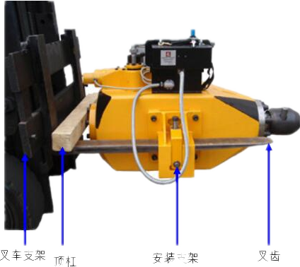 打楔铁机使用方法