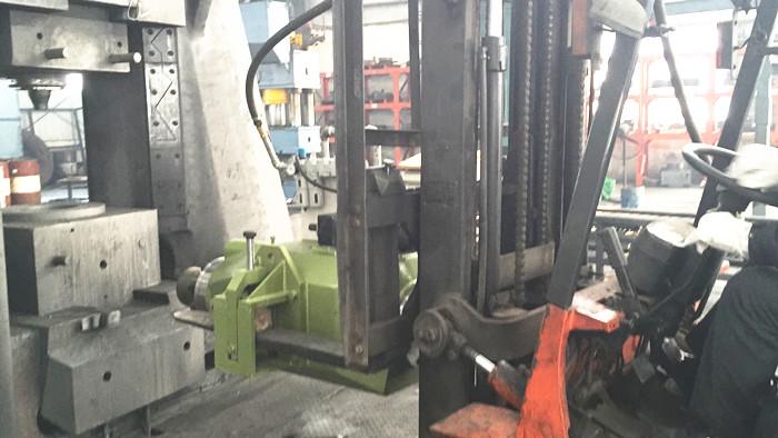 制造实力-打斜铁工具试车