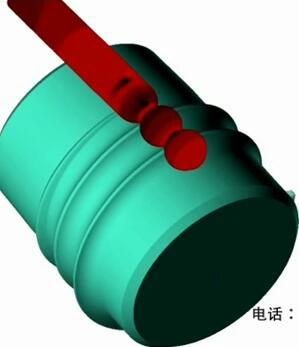 钢球生产视频-3维全景模拟钢球斜轧原理