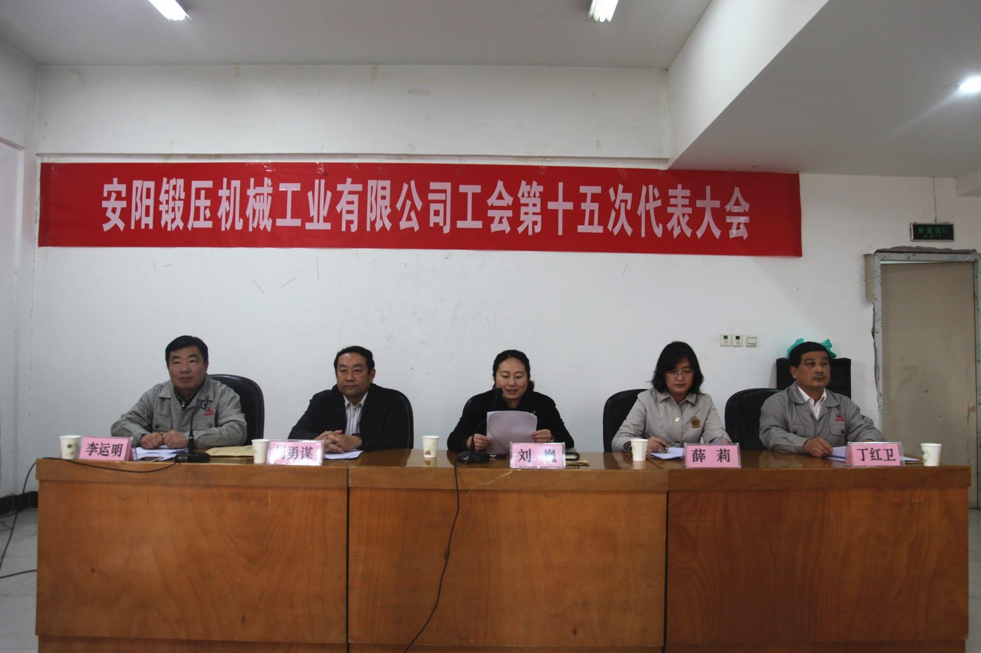 第十五次工会会员代表大会
