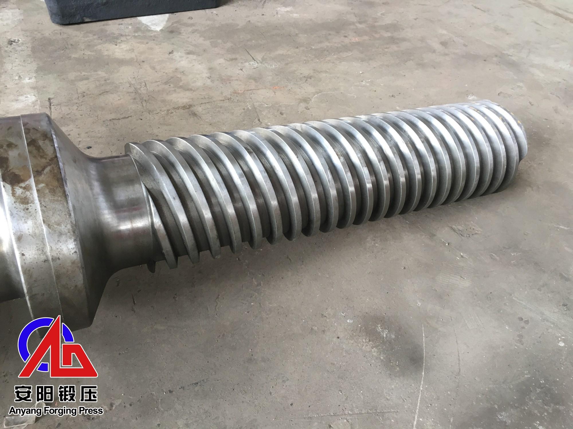 电动螺旋压力机螺杆